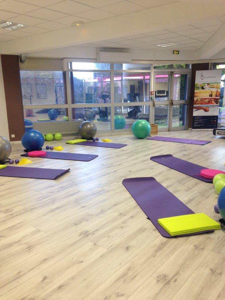 Espace collectif config pilates